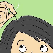 「イラスト 白髪」の画像検索結果
