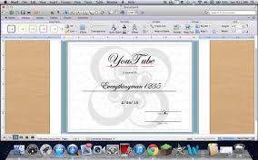 how to create a certificate on word 2011 mac how to create a certificate on word 2011 mac