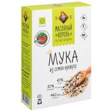 <b>Мука</b> из других злаков Масляный Король — купить на Яндекс ...