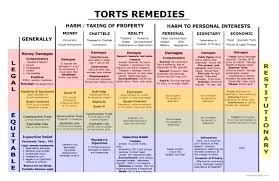 remedies big picture bar exam study materials torts remedies