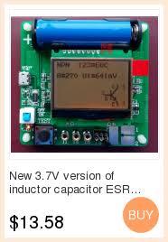 V2.68 <b>LCR T4 Mega328 Transistor</b> Tester Diode Triode Inductors ...