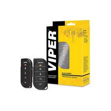 Viper D9656V 1-Way <b>5</b>-<b>Button Car</b> Starter And Alarm <b>Remote</b> Control