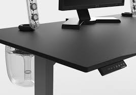 gaming office desk. evodesk black sound system with programmable remote gaming office desk r