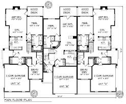 Multi Family House Plans  amp  Multi Plex Home Floor Plans at    ORDER this house plan  Click on Picture for Complete Info