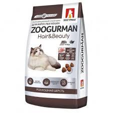 Марсик <b>Зоогурман Hair</b> & Beauty <b>сухой корм</b> для кошек Птица ...