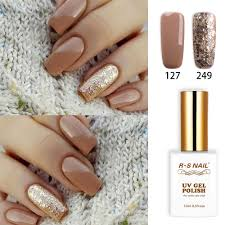<b>RS Nail 15ml uv</b> led gel nail polish No.127+249 gel varnish nail ...