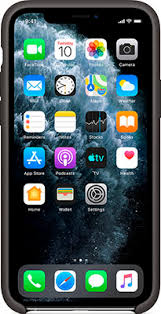 <b>Чехол силиконовый Apple Silicone</b> Case для iPhone 11 Pro - Black ...