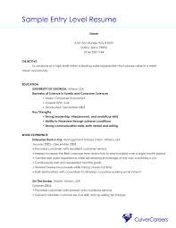 entry level s resume sample template entry level s resume sample