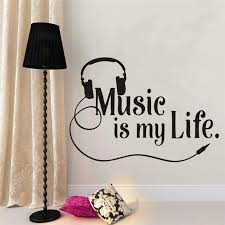 <b>Musical Wall Decal</b> Sing Lovers Wall Decal Quote Vinyl Wall Sticker ...