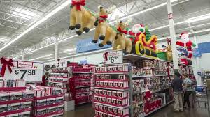 grocery stores open on christmas eve and christmas abc11 com an image of a walmart holiday display