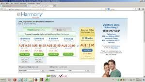 Some days ago  eHarmony Inc  had redesigned eHarmony UK to look like eHarmony USA and Canada sites  eHarmony Australian site not redesigned yet