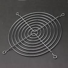10 Pieces <b>Gdstime 14cm</b> Fan Iron Net Steel Chrome Metal ...