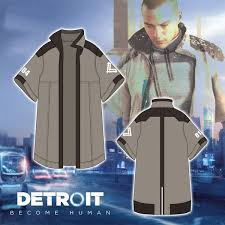 Детройт: Стать Человеком Топы Косплей Маркус Куртка <b>Тренч</b> ...