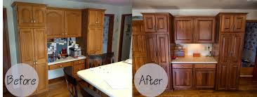 Resurfacing Kitchen Cabinets Refacing Kitchen Cabinets Before And After Kwasare Decoration