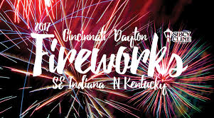 2017 Fourth of July Fireworks in Greater Cincinnati and Dayton ...