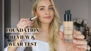 <b>BOBBI BROWN FOUNDATION</b> REVIEW & WEAR TEST | Louise ...