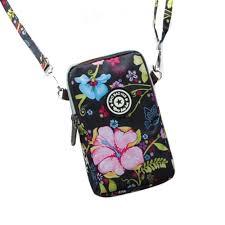 <b>Korean Style Women's Shoulder</b> Bag Print Mobile Phone Bag ...