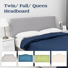 <b>Adjustable Linen Fabric Upholstered</b> Headboard Twin/Full/Queen ...