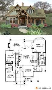 ideas about Cottage House Plans on Pinterest   House plans    craftsman mountain house plan and elevation sft houseplans