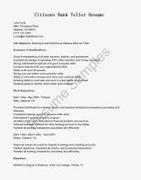 resume samples for bank teller position best resume sample for bank bank teller sample resume
