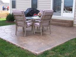 base concrete patio ideas