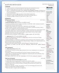 karthik s evolution of my resume karthik srinivasan two page resume second page isn t shown