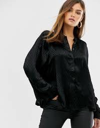 <b>Рубашка</b> с длинными рукавами SikSilk-Черный fa2b3418 купить ...