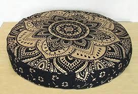 Home & Garden <b>1PCS</b> Floor Pillow Mandala Bohemian Indian ...