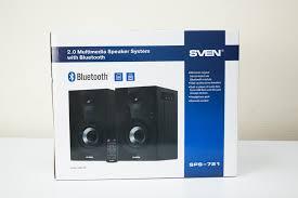 Обзор <b>SVEN SPS</b>-<b>721</b> - симпатичной акустики для дома / Hi-Fi и ...
