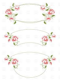 floral vintage style wedding frames click to zoom