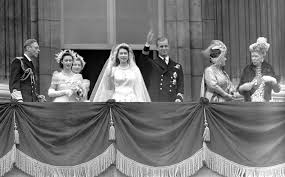 「1947 Prince Philip, Duke of Edinburgh and elizabeth II married」の画像検索結果