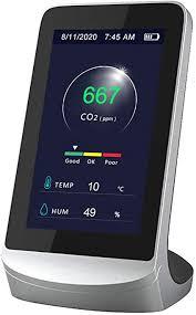 <b>Air</b> Quality Meter Kecheer CO2 Detector 4.3 Inch Digital LCD ...