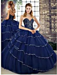 <b>Navy Blue Quinceanera</b> Dresses - <b>Vestido</b> de <b>Quinceanera</b>