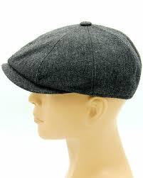 Grey newsboy cap for men | Кепка газетчика, Мужские шляпы ...