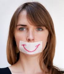 Image result for fake smile