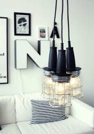 room light fixture interior design: view in gallery industrial styled diy pendants