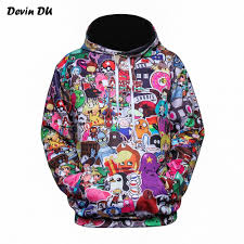 Rick and Morde Men and Women 3D Print Sweatshirt Cartoon ...