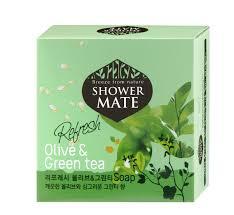 """<b>Shower Mate Мыло косметическое</b> """"Оливки и зеленый чай"""", 100 г ..."""