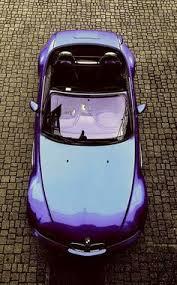 bmw z3 purple bmw z3 1996 side aa