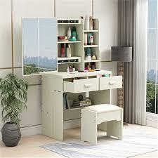 <b>Box</b> Vanity Table Schminktisch <b>Cabinet</b> Set Tocadore Para El ...
