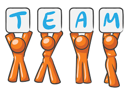 fast team player at work clipart clipartfest encourage team work1