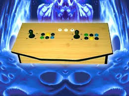 SNAAAKE'S all laminated custom built <b>2 player arcade joystick</b> for ...
