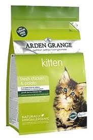 <b>Корм</b> для кошек <b>Arden</b> Grange (8 кг) Kitten курица и картофель ...