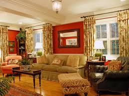 ideas burnt orange: burnt orange and brown living alluring burnt orange and brown living room