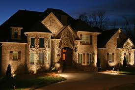 outdoor lighting stone home nashville awesome modern landscape lighting design