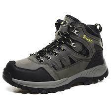 <b>Men's Large Size</b> Rubber Outsole Sneaker High-top <b>Outdoor</b> ...