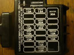 fuse panel mx 5 miata forum first one is a 90 and second is a 97