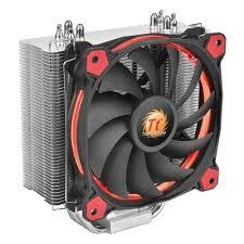 <b>Кулер</b> для процессора <b>Thermaltake Riing</b> Silent 12 Red (CL-P022 ...