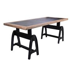 american retro style industrial loft old wrought iron furniture wood retro office table desk american retro style industrial furniture desk