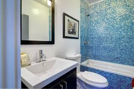 blue bathroom tile ideas: blue tile bathroom bathroom with vibrant blue tile modern bathroom los angeles simple